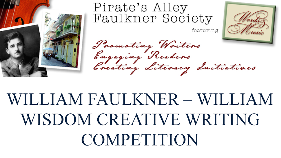 William Faulkner – William Wisdom Creative Writing Competition Finalist