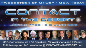 Contact In The Desert - Joshua Tree - June 3-6 2016