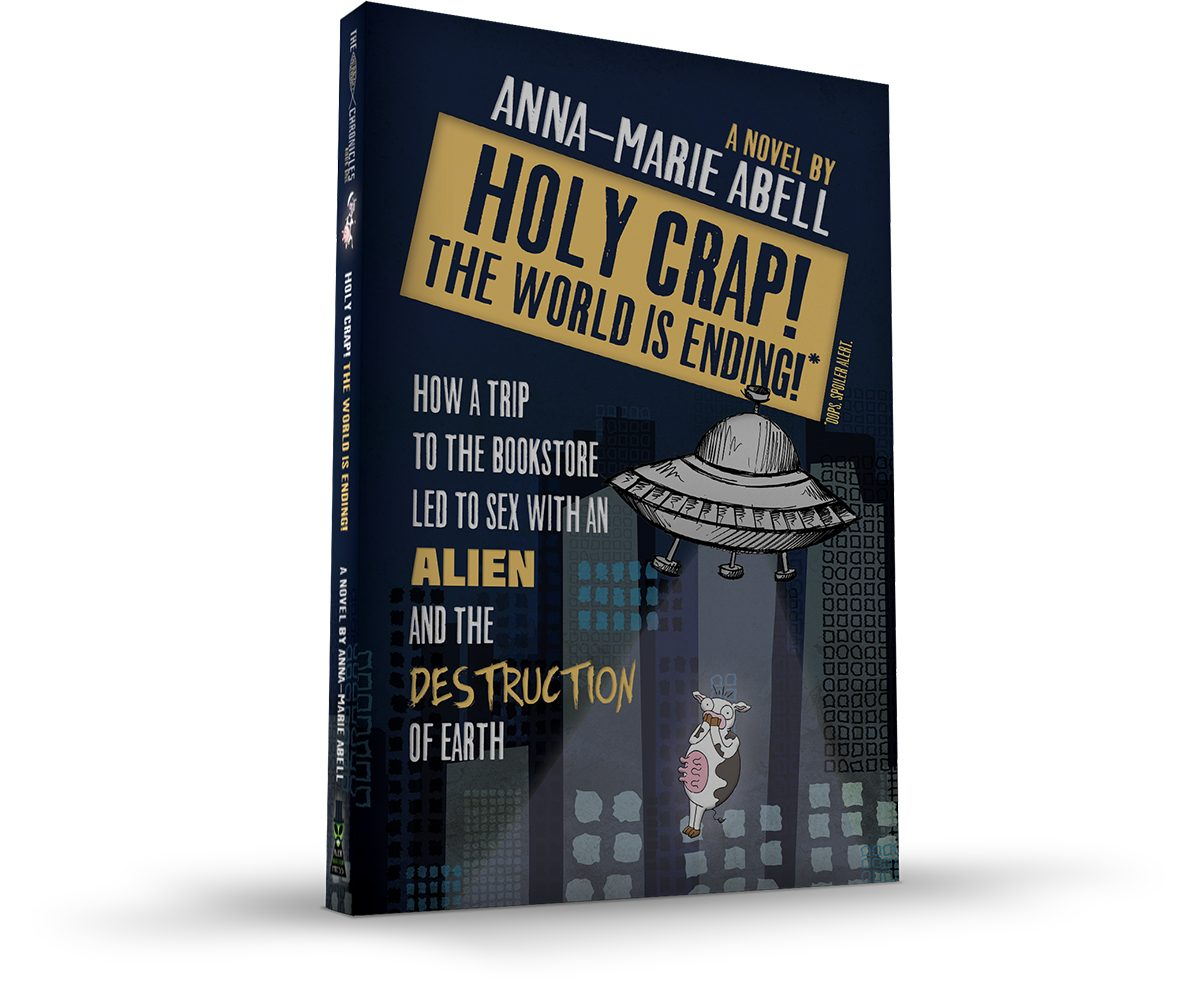 Holy Crap! The World is Ending! Book Cover