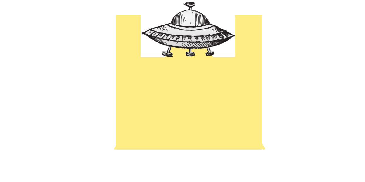 Silver Spaceship - WrittenByAnna