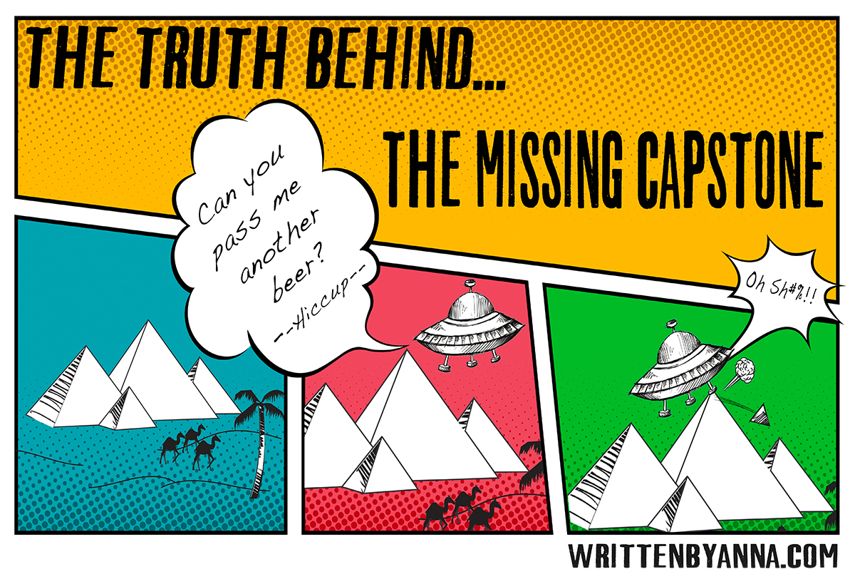 The truth behind the missing capstone on the Great Pyramid